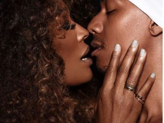 Nick Cannon goes shirtless for steamy photoshoot with topless Cynthia Bailey (Photos)