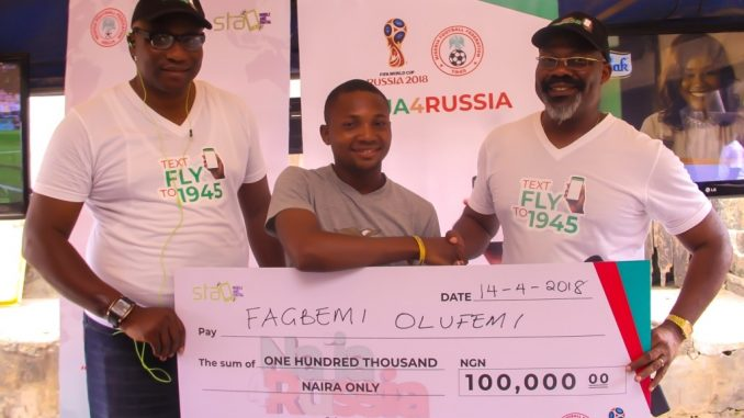 Naija4Russia celebrates Super Eagles Fans with mouth-watering prizes!