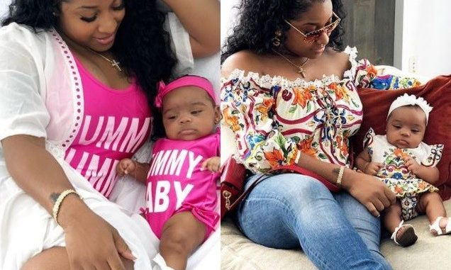 Toya Wright twinning with her daughter Reign in new adorable photos (Photos)