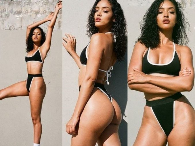 Showing him what he's missing? Wiz Khalifa's ex-girlfriend Izabela flaunts her hot body in bikini photos