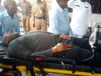 Update: Police storm hospital where Dino Melaye is being treated, re-arrest him and would soon arraign him in court