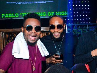 Photos: Olamide, Phyno, E-money turn up for Kcee's lavish birthday party in Lagos