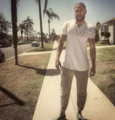 Jidenna is putting in work in the gym and it's showing!