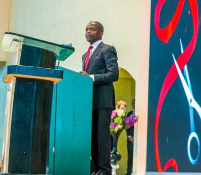 ''Governance in Nigeria is a spiritual warfare'' Vice President Yemi Osinbajo says