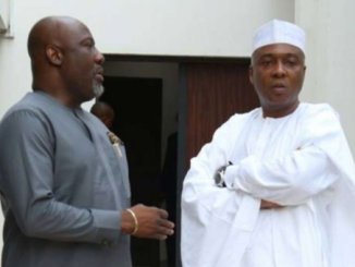 Video: Dino Melaye is in intensive care and stable for now though he has not eaten in the last 24-hours - Bukola Saraki