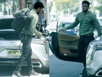 Black Panther star Chadwick Boseman shows off his brand new Lexus LC 500h (Photos)