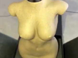Kim Kardashian's new perfume bottle is a replica of her body (photos)