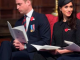 Prince William caught dozing off in church during Anzac Day service (photos/video)