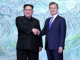 Photos from the historic meeting between North and South Korean Presidents