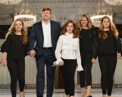 The Dutch royal family release incredibly regal photos to mark 5th anniversary of the king's ascension to the throne