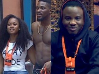 #BBNaija: ''Tobi got what he deserved from Ceec'' Deeone says(video)