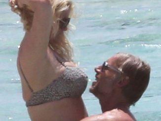 Jessica Simpson and husband Eric Johnson pack on the PDA during Bahamas getaway (Photos)