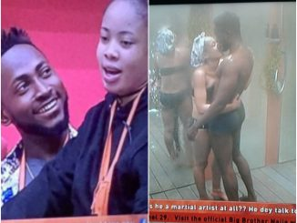 #BBNaija winner, Miracle, confirms he and Nina had sex in Big Brother house, says ''We were intimate''