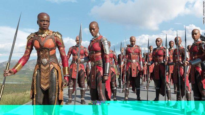 Dahomey Warriors black-panther