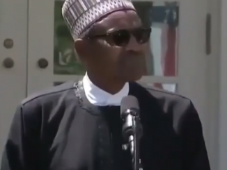 Video: President Buhari reacts to Donald Trump's ''Shithole'' comment