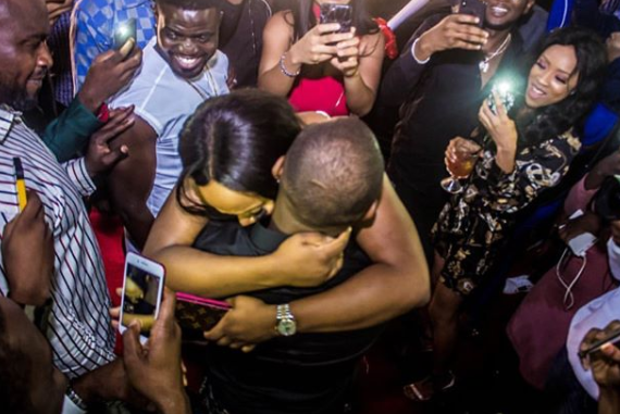 Photos: Here's the moment Davido gave his boo, Chioma a brand new Porsche SUV to celebrate her 23rd birthday