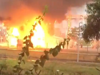Video: PHCN substation at Dolphin Estate on Fire