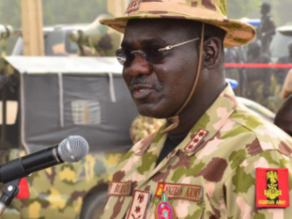 Chief of Army staff Buratai to Soldiers ''Don't use social media to air your grievances''