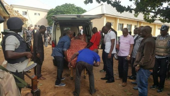 Dino Melaye arrives Kogi state in ambulance, to be arraigned in court today