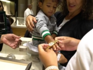 I love how DJ Khaled loves his son. Buys him $34k Rolex watch (video)