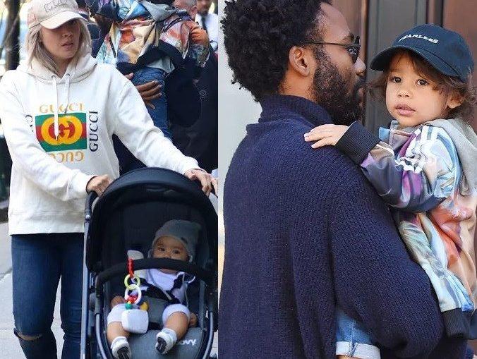 Actor Donald Glover makes rare family outing in New York City (Photos)
