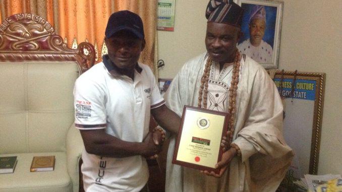 Baale of Magbon Imeke, Chief Kehinde Gafar Hassan Wins OFM Awards