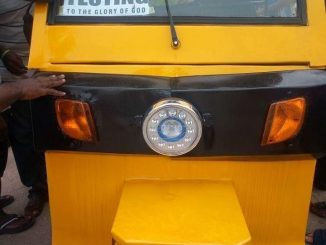 Made in Aba Tricycle
