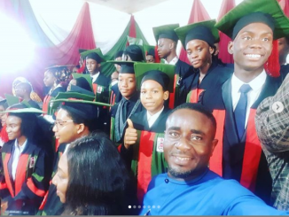 Emeka Ike celebrates his son as he graduates from College (Photos)