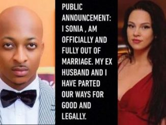 Breaking: IK Ogbonna and I have parted ways for good legally - Sonia Morales announces