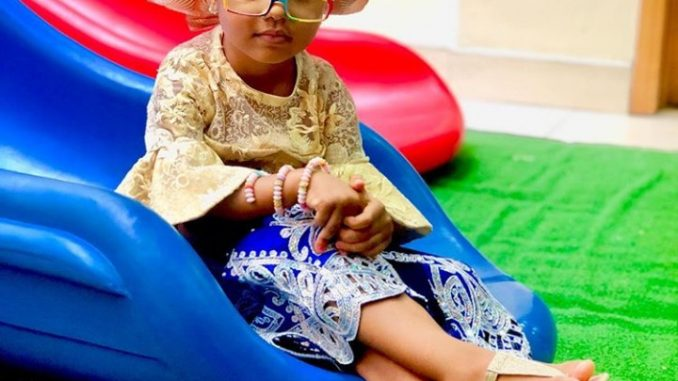 Ufoma McDermott shares adorable photo of her daughter as she turns 4