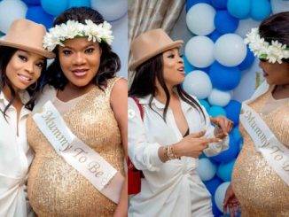 My favorite part of your life is you waking up one morning and turning your life around - Toke Makinwa congratulates Toyin Abraham