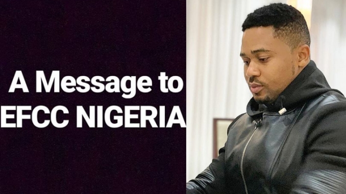 Nollywood actor Mike Godson writes open letter to EFCC to rescue him from impersonators
