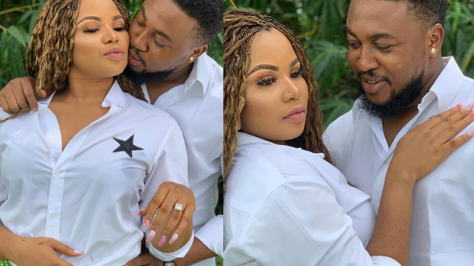 Nollywood Actor, Nosa Rex and wife Deborah celebrate 4th wedding anniversary with beautiful family photos