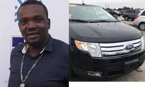 Yomi Fabiyi buys a new car, announces he made N7m from movie sales