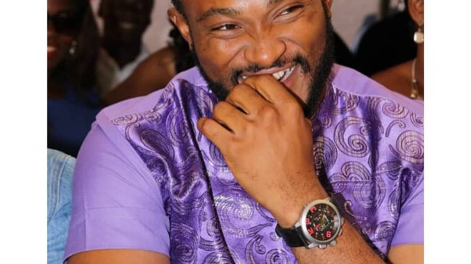 Blossom Chukwujekwu shares photo of himself laughing amidst reports his marriage has crashed