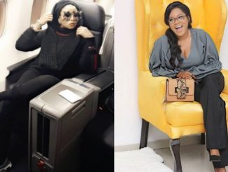 Lizzy Anjorin tackles Toyin Abraham, calls her a 'lying bastard' for allegedly opening fake accounts to troll her colleagues