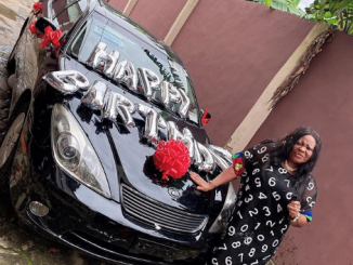 Nkechi Blessing Gifts Mum With Car As She Celebrates Birthday