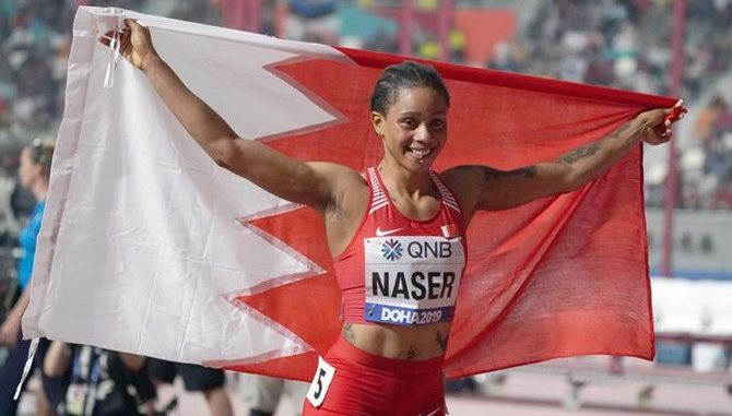 Nigerian-born Salwa Eid Naser runs third fastest time in history to win 400m World title for Bahrain, Ebuka reacts