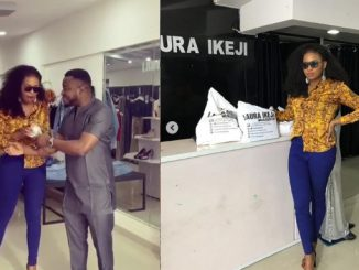 BBNaija: Cindy gets N1m from MC Galaxy after coming to Laura Ikeji's store to shop (videos)