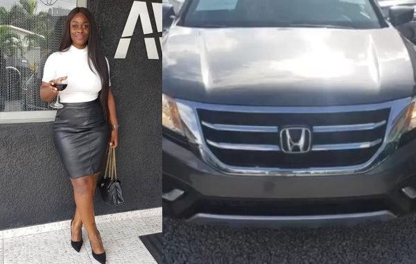 Uriel buys her first car (video)