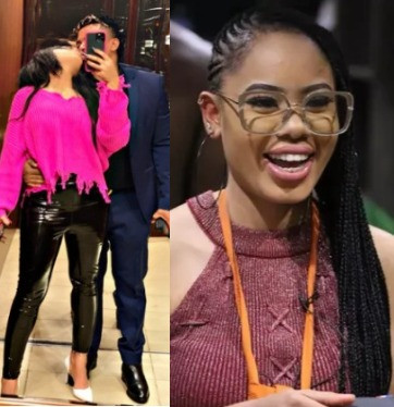 BBNaija's Nina and her new man react to alleged Whatsapp chat released by his ex-girlfriend