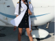 BBNaija2018 winner Miracle celebrates his girlfriend's birthday with a photo of her rocking his pilot shirt
