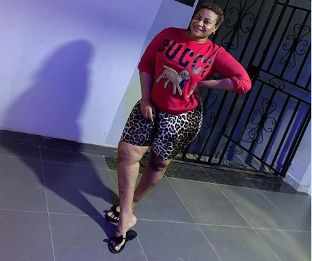 Nkechi Blessing Sunday and a troll slam each other over an outfit she wore