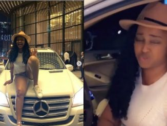 Actress Etinosa gets car gift after replying a DM