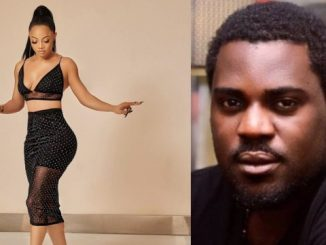 You are an ungrateful fool - Toke Makinwa slams Yomi Black after he shared a post questioning her source of income