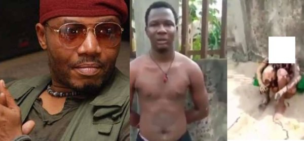 Who are you dating? Actor Ernest Obi reacts to report of suspected yahoo boy who set his girlfriend ablaze for allegedly cheating on him