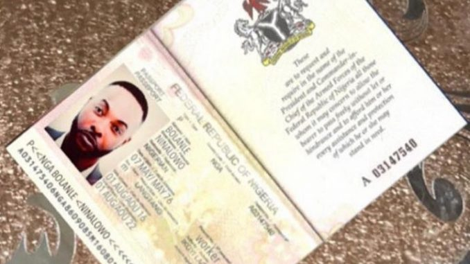 Scammers create fake passport and bank ATM with actor Bolanle Ninalowo's likeness to scam people