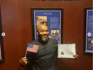 Nollywood actor, JohnPaul Nwadike becomes a US citizen (Photos)