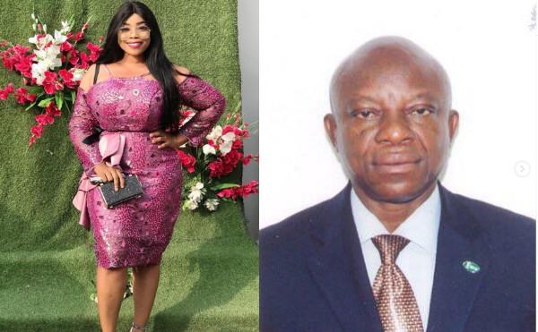 Actress Georgina Ibeh loses her father