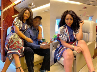 Regina Daniels and her husband Ned Nwoko all smiles as they jet off together (photos)